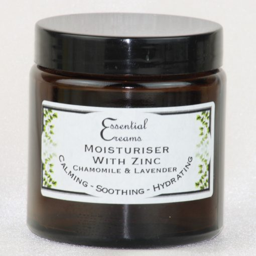 Moisturiser with Zinc, Chamomile & Lavender 120ml