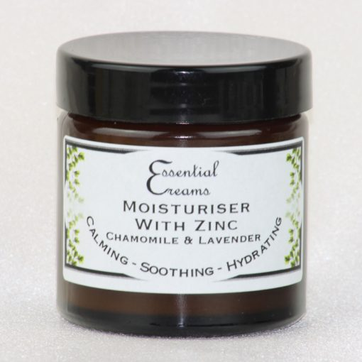 Moisturiser with Zinc, Chamomile & Lavender 60ml