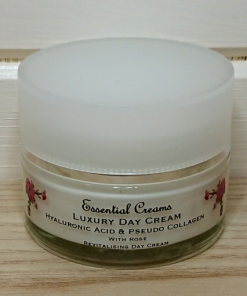 Luxury Day Cream with Rose & Hyaluronic Acid
