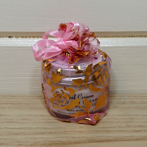Luxury Day Cream with Rose & Hyaluronic Acid Tiny Pot