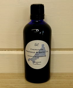 Energising Massage & Bath Oil